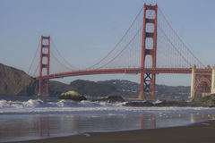 Beauty of the Golden Gate Bridge royalty free stock photos