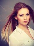 Beauty gorgeous elegant woman portrait. Stock Images