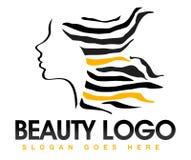 Beauty Hair Logo Royalty Free Stock Photo
