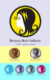 Beauty Hair Saloon Stock Photography