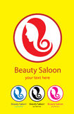 Beauty Hair Saloon Royalty Free Stock Images