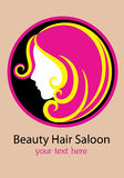 Beauty Hair Saloon Royalty Free Stock Photography