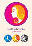 Beauty Hair Studio Royalty Free Stock Photo