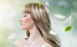 Beauty hair Royalty Free Stock Image