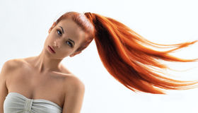 Beauty hair Royalty Free Stock Images