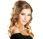 Beauty hairstyle Royalty Free Stock Image