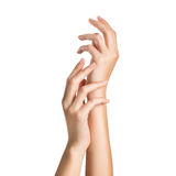 Beauty handcare royalty free stock images