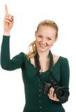 Beauty Happy Photographer Stock Photos