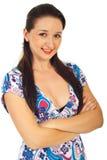 Beauty happy woman Stock Photos