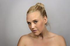 Beauty head shot Stock Photos