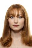 Beauty head shot Stock Photo