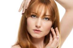Beauty head shot Royalty Free Stock Photography