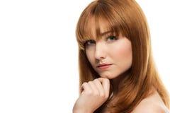 Beauty head shot Royalty Free Stock Photos