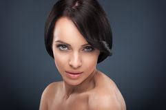 Beauty headshot Stock Photography