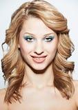 Beauty headshot girl Royalty Free Stock Photos