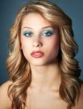 Beauty headshot girl Royalty Free Stock Images