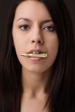 Beauty headshot Stock Image