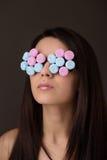 Beauty headshot Stock Photo