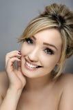 Beauty headshot Royalty Free Stock Photos