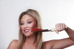 Beauty headshots Royalty Free Stock Images