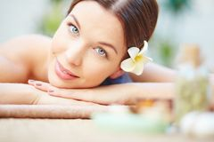 Beauty and health care Royalty Free Stock Photography