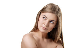 Beauty and health of young woman Stock Photo