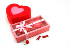 Beauty heart stock images