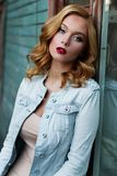 Beauty, Human Hair Color, Fashion Model, Blond stock photography