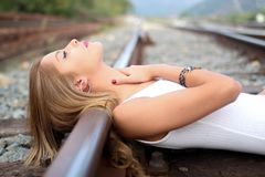 Beauty, Human Hair Color, Girl, Blond Stock Photos