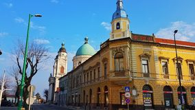 Hungary-Cegléd. Beauty hungarian city Stock Photography