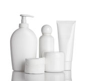 Beauty hygiene container Royalty Free Stock Images