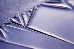 Beauty of ice - closeup Stock Image