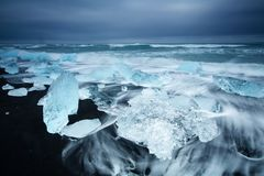 Beauty of iceland island, dramatic landscape Stock Photos