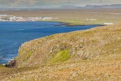 Beauty Icelandic landscape - Stakksfjordur Stock Images