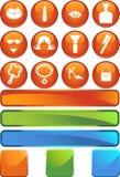 Beauty Icon Set: Web Button Series Stock Image