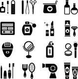 Beauty icons Stock Photography