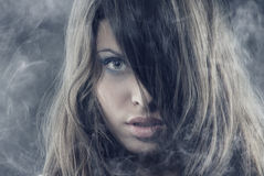 Free Beauty In The Smoke Stock Image - 7410451