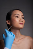 Beauty injection Stock Photos