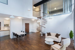 Beauty interior in contemporary design Royalty Free Stock Images