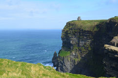 The Beauty of Ire`land`s Cliff`s of Moher in County Clare Royalty Free Stock Photo