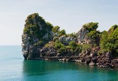 Beauty island on daylight Stock Image