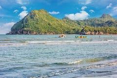 Beauty Island on daylight summer season Royalty Free Stock Photography