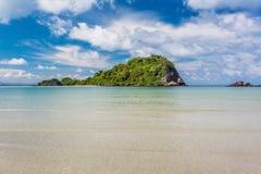 Beauty Island on daylight summer season Stock Images