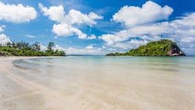 Beauty Island on daylight summer season Royalty Free Stock Images