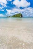 Beauty Island on daylight summer season Stock Image