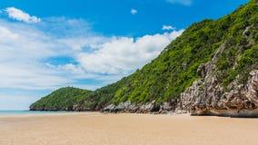 Beauty island on daylight Stock Photo