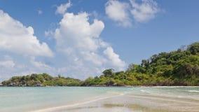 Beauty Island on daylight in Thailand stock video footage