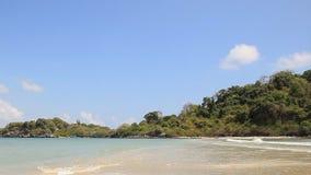 Beauty Island on daylight in Thailand stock footage
