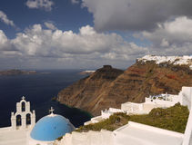 The beauty of the island, Santorini Royalty Free Stock Photo
