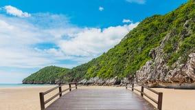 Beauty island on summer Stock Photo